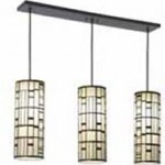 Fire Farm Kyoto Ceiling Pendants in 3 Pendant Configuration