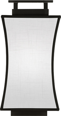 Fine Art Lamps 232850-6ST Coupe Sconce from the Black & White Story Collection