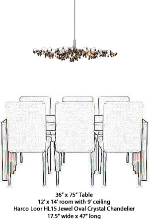 what size should my chandelier be my design42. Black Bedroom Furniture Sets. Home Design Ideas