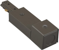 WAC Lighting Single Circuit Track Live End BX Connector
