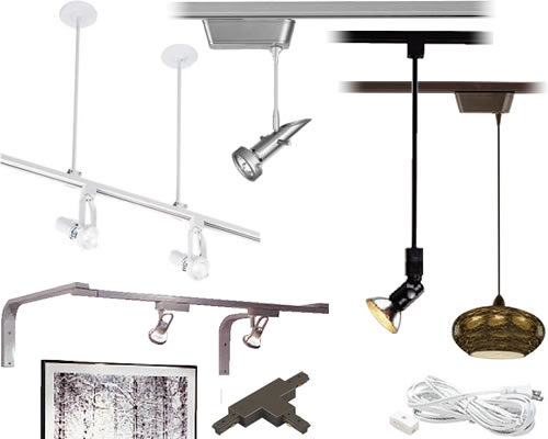 Examples of Track Lighting