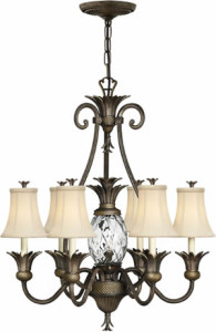 Hinkley Lighting 4886 Plantation Chandelier