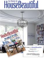 "Seen in House Beautiful October 2013 ""Beautiful Ideas"""