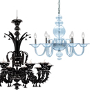 Glass Chandeliers, Traditional & Contemporary Venetian Chandeliers