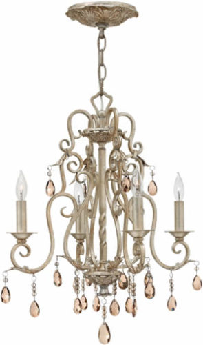 French Country Style - Hinkley Lighting 4774SL Chandelier from the Carlton Collection