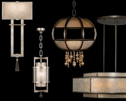 Fine Art Lamps Singapore Moderne & Singapore Moderne Silver Collection