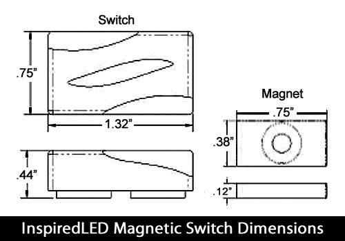InspiredLED Magnetic Switch Specifications