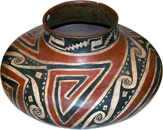 Salado Polychrome Jar from Tonto National Monument - Southwestern Architecture and Décor – myDesign42
