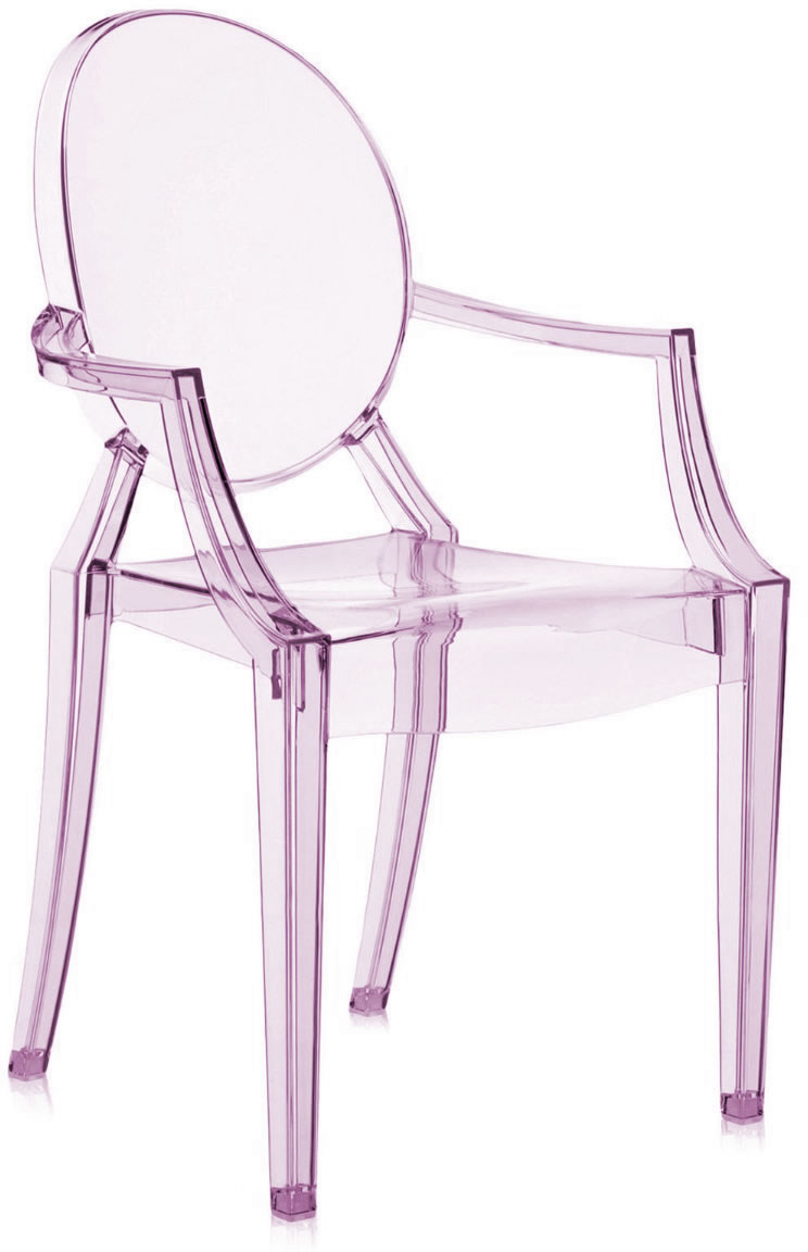 Louis Ghost Chairs Are Available In A Variety Of Beautiful Translucent And Transpa Colors