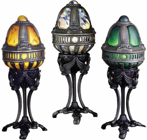 Meyda Castle Swan Gothic Accent Lamps