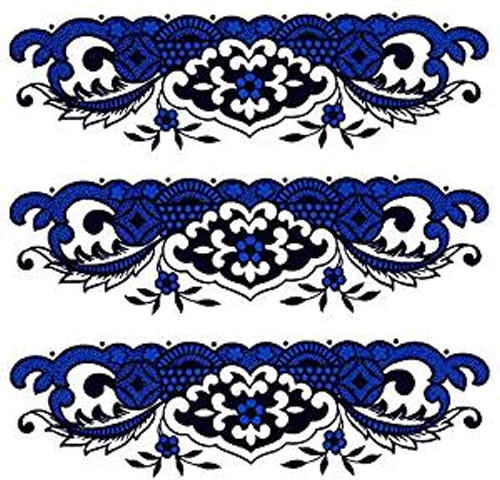 Blue Willow Decals - Blue Willow Bathroom Accessories - myDesign42