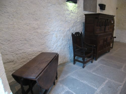 Furniture in the Great Hall of Cahir Castle - Medieval Influence on Arts and Crafts Style - myDesign42