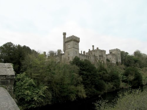 Medieval Influence on Arts and Craft/Lismore Castle Skyline from Bridge across the River Blackwater - s Style - myDesign42