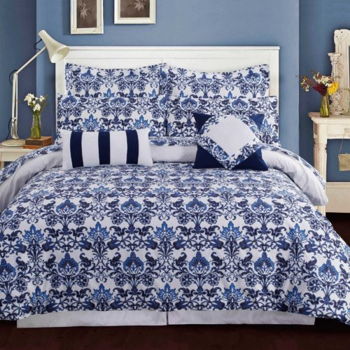 Tribeca Living Catalina Duvet Cover Set