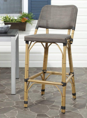 Kipnuk Deltana Bar Stools from Safavieh Home - Rattan Bar Stools - www.mydesign42.com