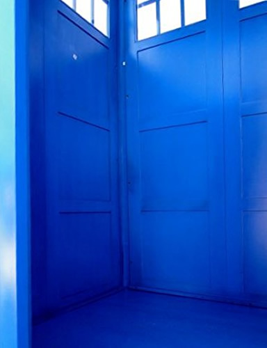 Painted Tardis Blue inside and out - Love The Doctor? Full Size Police Call Box Tardis – Doctor Who Gift