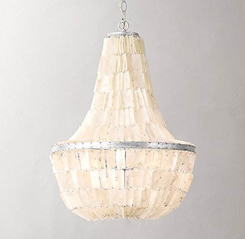 Sky Empire Capiz Chandelier - Capiz Chandeliers, Natural & Fresh