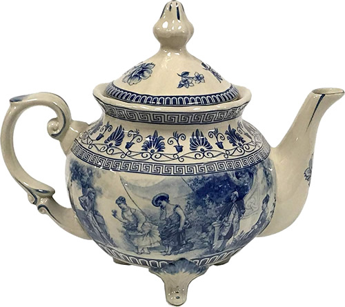 Liberty Blue Teapot from the Madison Bay Company