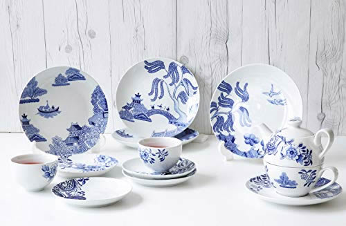 There are a lot of pieces available from the Loveramics Willow Love Story pattern. Each uses different elements from the Blue Willow pattern. - Loveramics Willow Love Story Pattern Dishes - My design42