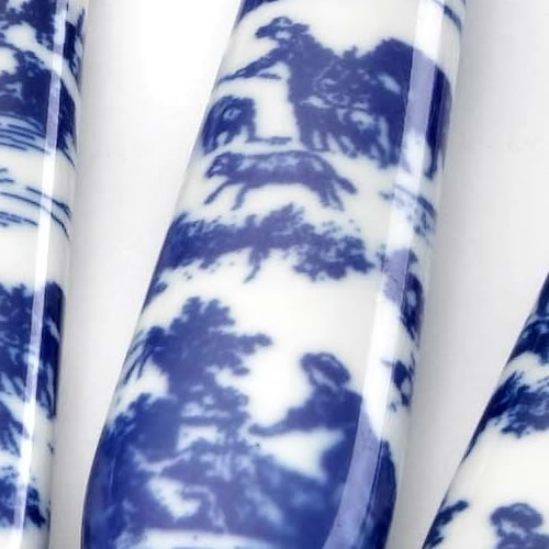 Nina Campbell Toile Blue Sabre Cutlery