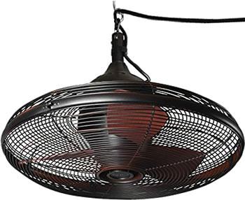 Allen + Roth L1120H Valdosta Portable Outdoor Wet Location Ceiling Fan