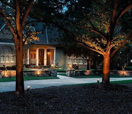 Kichler accent lighting and path lights