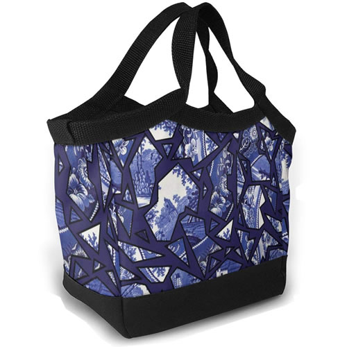 Blue Willow Mosaic Lunch Tote