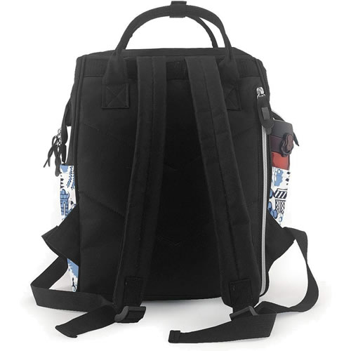 Winter Blue Willow Back Pack Lunch Box