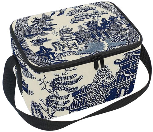 Traditional Blue Willow Lunch Box