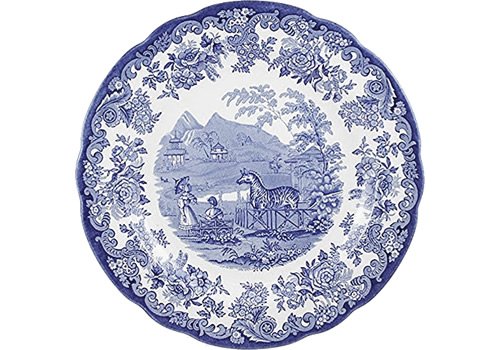 Spode Zebra from the Blue Room Collection