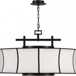 Fine Art Lamps 233540 Pendant from the Black & White Story Collection