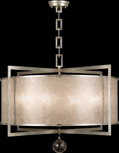 Fine Art Lamps Chandelier Pendant 591540 from the Singapore Moderne Collection