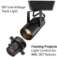 WAC Lighting Low Voltage Track Heads