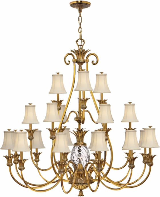 Hinkley Lighting 4889 Plantation 3-Tier Large Chandelier