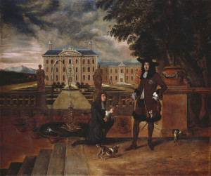 Charles II Presented with a Pineapple c.1675-80