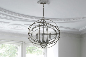 Crystorama 9225, 9226, 9228 Solaris Orb Chandelier