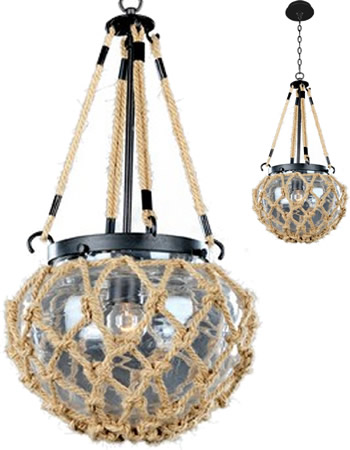 Kalco 308510 Mini Pendant from the Hatteras Collection