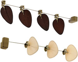 Fanimation Punkah Collection Antique Reproduction Wall or Ceiling Fans