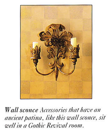 Gothic Revival Wall Sconce