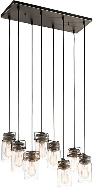 Kichler Brinley 42890 8-Light Multi-Pendant
