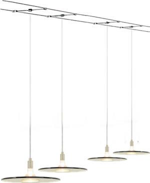 Tech Lighting 700_BIZ Biz Pendants suspended from Cable