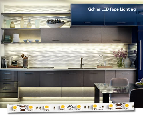 Kitchen with Kichler® LED Tape