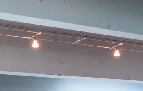 Tech Lighting K-Pivot Head Cable Light uses up to 75 watt MR16
