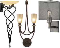 Contemporary Bracket Sconces