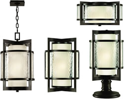 Fine Art Lamps Singapore Moderne Outdoor Collection