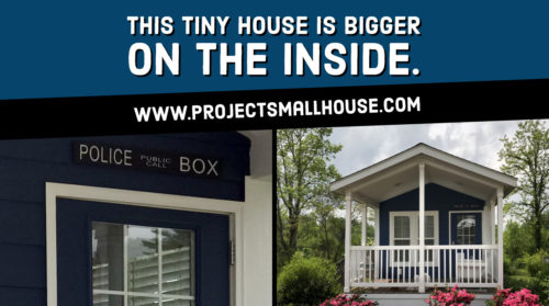 This Tiny House is Bigger on the Inside: Tiny House for Doctor Who Fans
