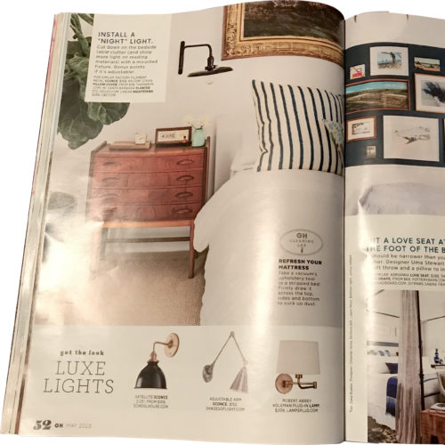 Your Home: Dreamy Bedroom Updates Good Housekeeping May 2018