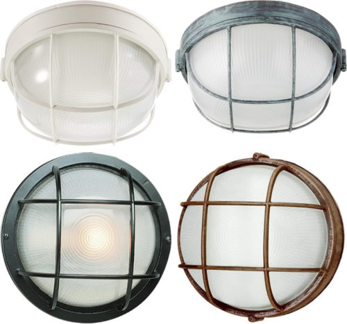 "Transglobe 41505 Aria 8"" Bulkhead - Ship Lights – Three Styles - myDesign42"