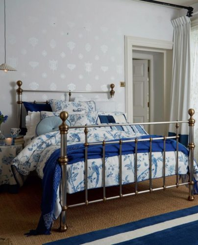 Laura Ashley Summer Palace Duvet Cover and Coordinating Pillows