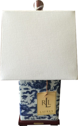 Ralph Lauren Table Lamp with Dragons - Ralph Lauren Chinoiserie